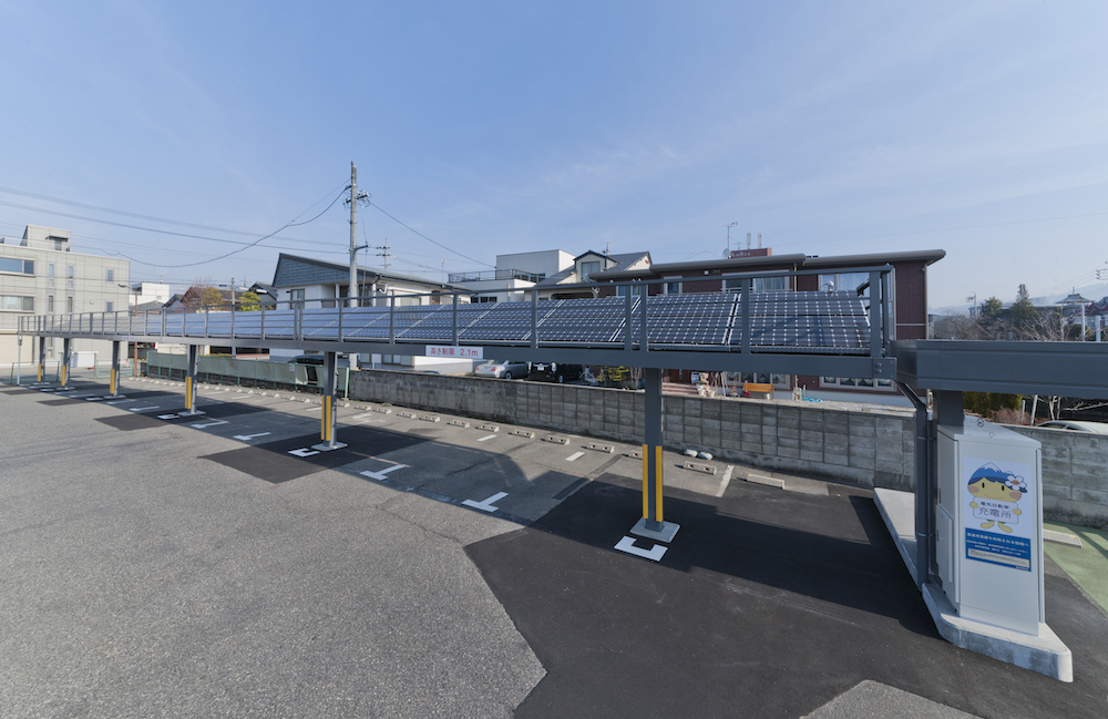 松本市役所太陽光発電設備設置