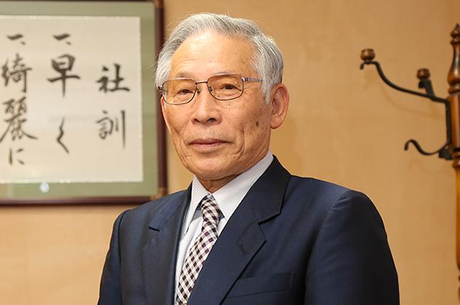 中嶋社長の挨拶